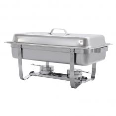 Chafer rectangular para buffet con 1 bandeja  AT761L63-1
