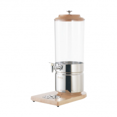 Dispensador de jugos de 7 Lt., base de madera AT90315