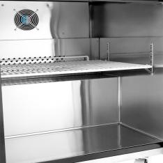 Mesa bajo barra refrigerada de 2 puertas con 13.3 pies³ MGF8402GR