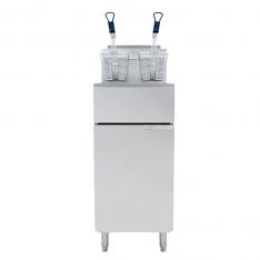 Freidora a gas de 19.5 litros de capacidad. ATFS-40 * FRYER-19.5-3Q