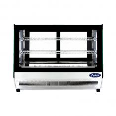 Vitrina refrigerada rectangular de mostrador de 120 Lts. de capacidad CRDS-42