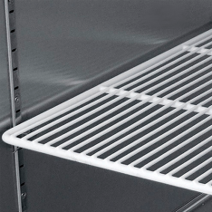 Refrigerador vertical de 1 puerta sólida MBF8004GR * RVS-124-S