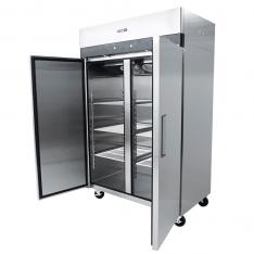 Refrigerador vertical de 2 puertas sólidas, con 43.1 ft³ MBF8005GR * RVS-247-S