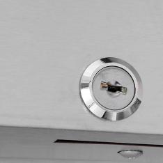 Refrigerador vertical de 2 puertas sólidas, con 30.2 ft³ MBF8506GR * RVS-235-S
