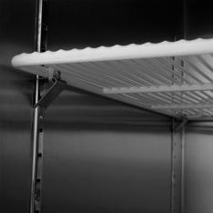 Refrigerador vertical de 3 puertas, con 68 pies³