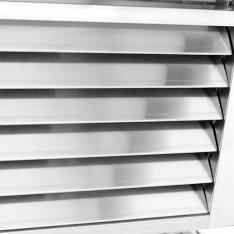 Refrigerador vertical de 19.1 pies³ con 1 puerta de cristal MCF8705GR
