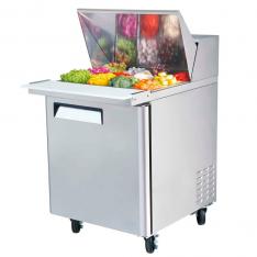 Mesa Refrigerada para preparar sándwiches y ensaladas MSF8301GR * MRS-70-1P