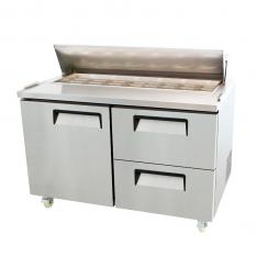 Mesa para preparar sándwiches y ensaladas de 18.2 pies³ MSF8312GR