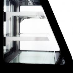 Vitrina refrigerada curva de piso, de 365 Lts. de capacidad WDF127D
